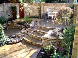 cool designs of bricks and stones for gates and fences ideas