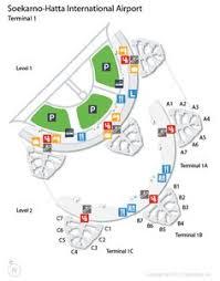 Incheon Airport Floor Plan Cgk Soekarno Hatta International Airport Terminal Map Airports