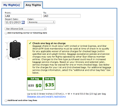 united airlines baggage allowance united airlines reduces free checked baggage allowance for star