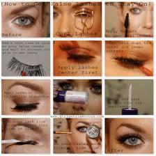 how to apply false lashes make them stay on girlgetglamorous