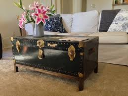 vintage trunk coffee table vintage chest coffee table coffee tables with regard to chest