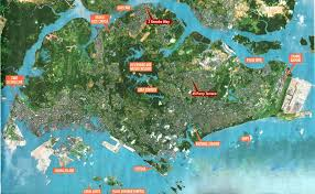 Coral Reef Map Of The World by Large Singapore City Maps For Free Download And Print High