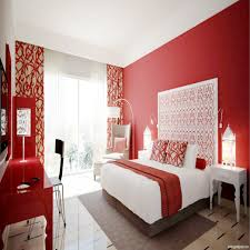white and red bedroom ideas for basement bedrooms