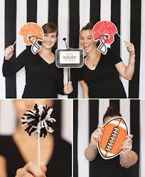 themed photo booth once upon a wedding archive best football themed props for