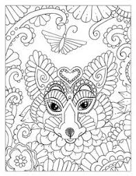 free printable coloring pages complicated cats pages