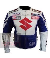 white motorcycle jacket suzuki icon 4269 white jacket cowhide motorbike leather jacket