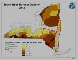 Westchester County Map Where Are The Bears In Western New York Wnytrails