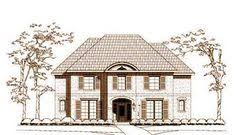house plans monster luxury style house plans 4141 square foot home 2 story 4