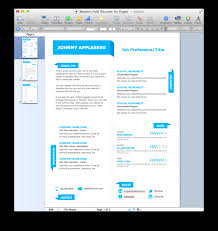 Cool Resume Templates For Mac Cover Letter Resume Template Mac Resume Template Mac Free Download
