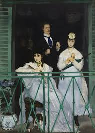 Édouard manet s the balcony 1868