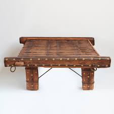 Mix Furniture Square Ox Cart Coffee Table Furniture Mix Furniture
