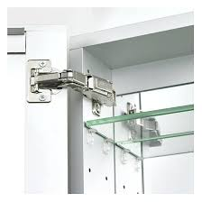 tri fold medicine cabinet hinges tri view medicine cabinet hinges cherry cabinet to match st vanity