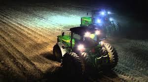 led tractor light bar john deere led lighting video youtube