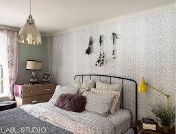soothing color palette inspiring bedroom decor popsugar home