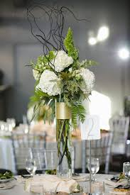 gold centerpieces flower fall wedding centerpieces fern centerpieces