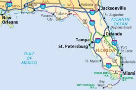 map of gulf coast florida there s no work in a florida one road at a