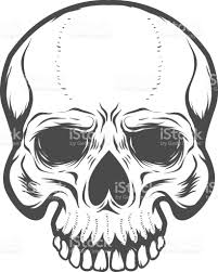 halloween background posters for free skull illustration isolated on white background design elements