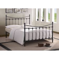 Metal Bedroom Furniture Bedroom Furniture Iron Rod Bed Iron Bed With Storage White