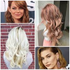 blonde hair colors ideas for 2017 new hair color ideas u0026 trends