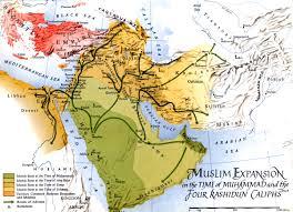 Map Of Al War Matrix Arab Conquests