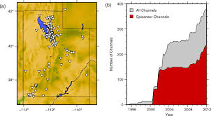 a model of ambient seismic noise recorded by the utah regional