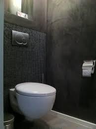 badkamer wc design modern wc stuc deco toilet met kleine wandtegels pleisterwerk en