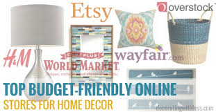 shop for home decor online budget friendly online stores for home decor