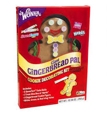 Christmas Cookie Decorating Kit Perfect Gingerbread Man Kit For Christmas