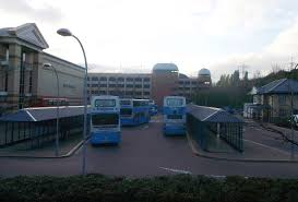 file bus station lakeside shopping centre 2 geograph org uk