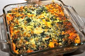 spinach breakfast strata a passionate plate