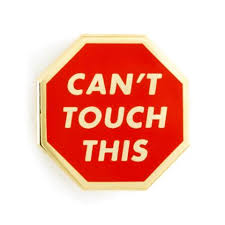 Can I Touch It Meme - enamel pin these are things can t touch this meme antenna