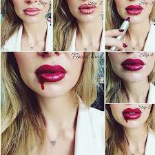 easy halloween makeup tips get spooky lips for 2017 in 6 simple