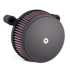 arlen ness stainless steel black big sucker air filter kit 91 17