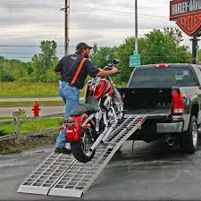 Ford F150 Truck Ramps - big boy ii folding motorcycle ramp system 8 u0027 to 12 u0027 long