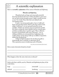 pictures on free printable writing worksheets for 4th grade