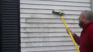 how to remove mildew from house siding youtube