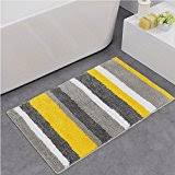 Julius Bath Rug Amazon Com Yellow Bath Rugs Bath Home U0026 Kitchen
