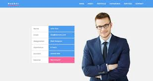 Wordpress Resume Theme Cv One Page Websites