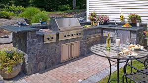Bbq Patio Designs Outdoor Kitchen Bbq Grill Patio Fireplace Designs