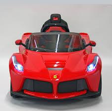 cars ferrari red ferrari laferrari 12v ride on cars kids cars direct uk