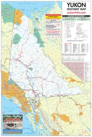 Alaska Cities Map by Yukon Map Large Detailed Map Highways Rivers