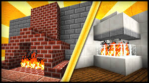 12 fireplace designs u0026 ideas minecraft youtube
