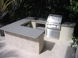 Custom Backyard Grills Custom Outdoor Kitchen Grill Island With Built In Grill And Two
