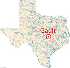 Texas Highway Map Gault