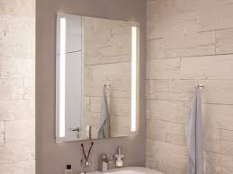 Bathroom Mirror Built In Light by Wall Mounted Mirror With Integrated Lighting Fineline By Top Light