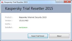 reset kaspersky 2014 trial period how to activate kaspersky using krt tool
