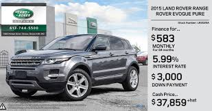 land rover 2015 price manager u0027s used specials land rover ottawa