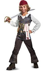 amazon com 5 piece halloween pirate costume mask and