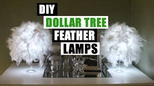 Home Decor Lamps by Diy Dollar Glam Feather Lamps Dollar Store Diy Glam Lamp Diy