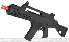 best airsoft black friday deals ics g33 airsoft aeg rifle color black evike com